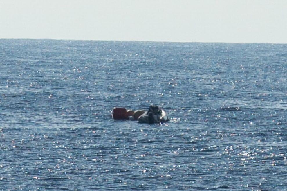 Shuttle Esa nel Pacifico: il recupero in mare