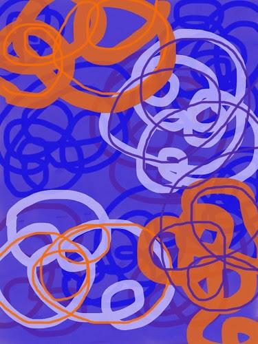iPad abstract drawing