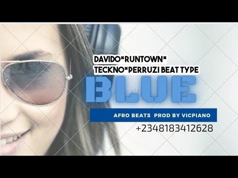 DAVIDO+RUNTOWN TYPE BEAT- BLUES PROD BY VICPIANO -AFRO BEATS