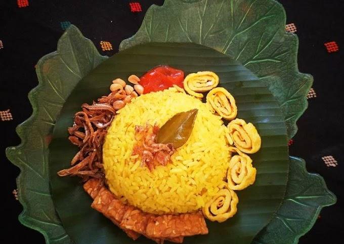 Resep Nasi Uduk Kuning, Lezat Sekali