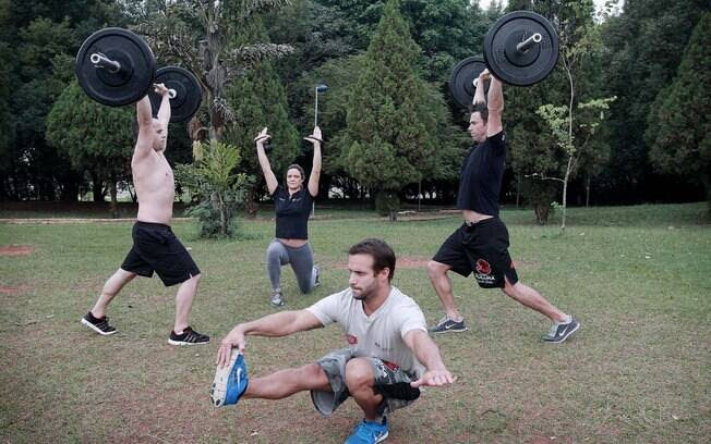 Normalmente, o CrossFit é praticado indoor, mas, às vezes, pode ser feito do lado de fora também
