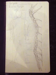 Sketch for centipede chaise longue
