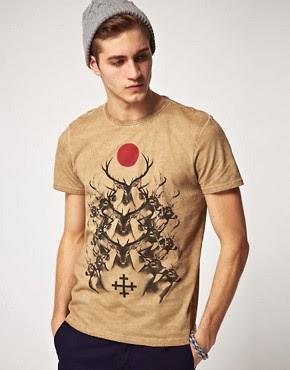 Image 1 ofRiver Island Deer T-Shirt