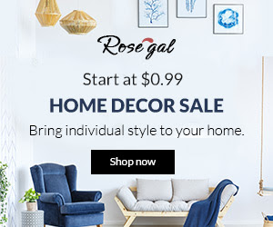 Rosegal Home Decor Sale