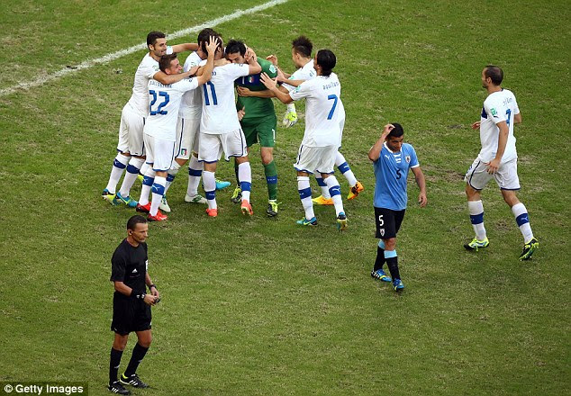 Third place: Italy won the third-place after an entertaining match with Uruguay
