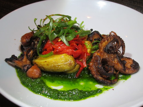 Grilled Octopus at FINO