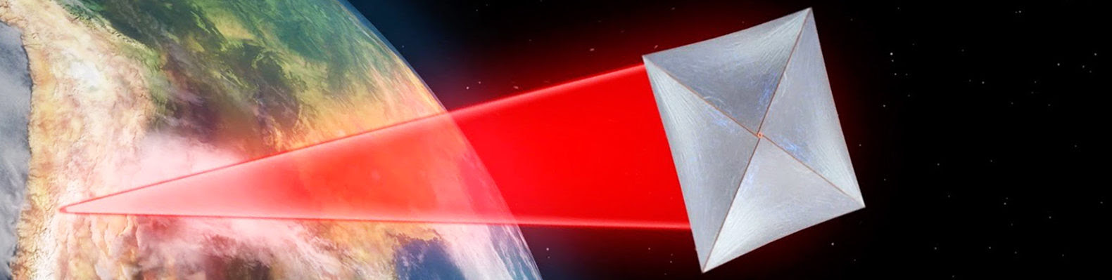Breakthrough Starshot spacecraft on its way to Alpha Centauri: Image Credit: Breakthrough Initiatives