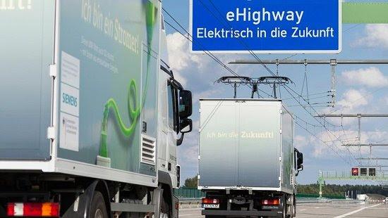 Primeira estrada eletrificada inaugurada na Suécia
