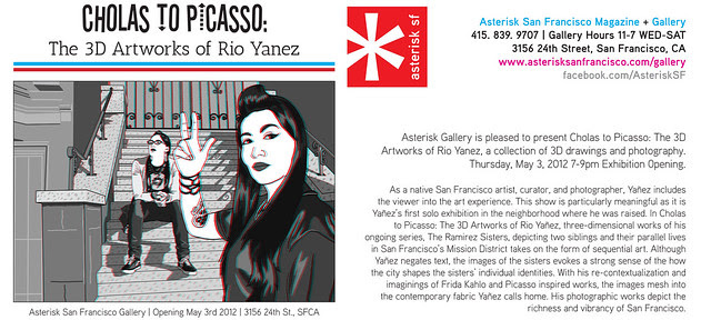 My first Bay Area solo  show!