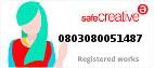 Safe Creative #0803080051487