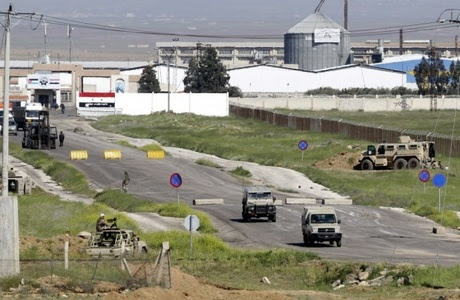 Image result for Syria says it reopened vital border crossing with Jordan