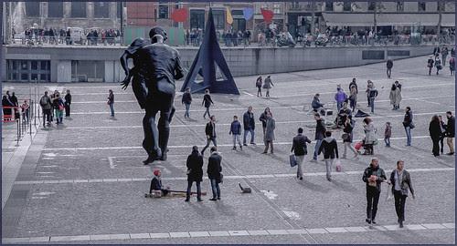 centre pompidou by hans van egdom