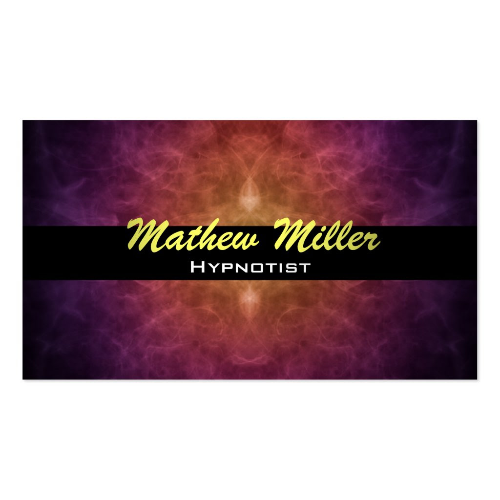 Hypnotherapy Business Card Templates Jackie I Dupuis Blog