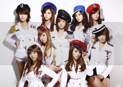 The SNSD-bots go all sexy sailor on our arses