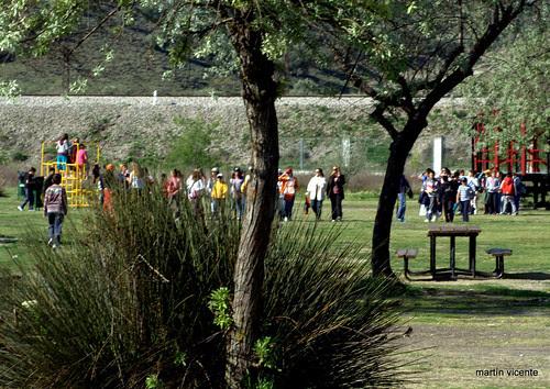 Un día de primavera en el Parque Bolitas del Airón