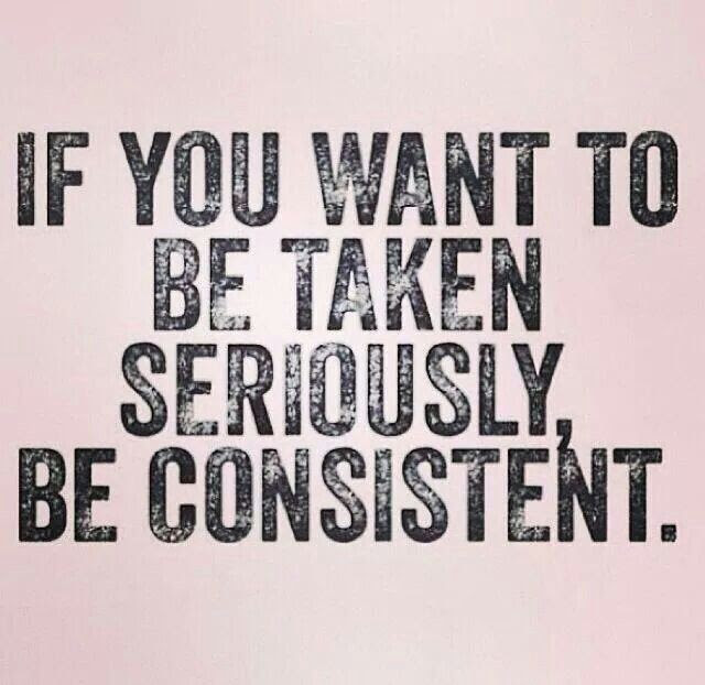 Consistency Quotes And Sayings With Pictures Annportal
