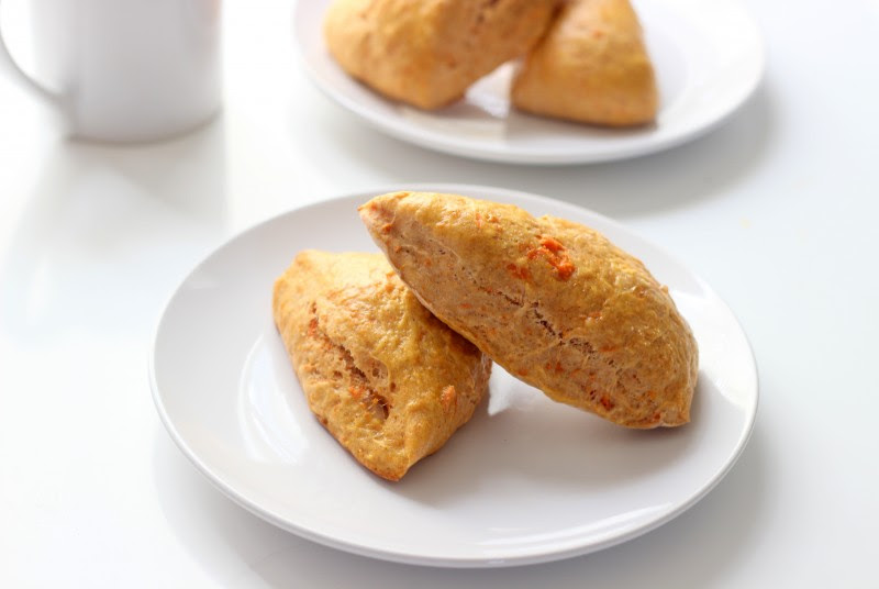 Sweet Potato and Cinnamon Scones Recipe (Low Fat):