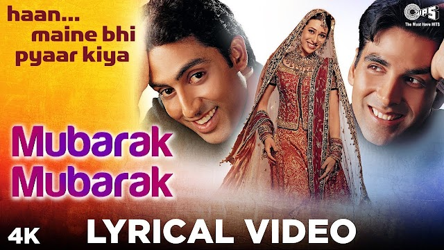 Mubarak Ho Tumko Ye Shadi Tumhari lyrics in Hindi