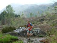 Race winner Simon Peachey