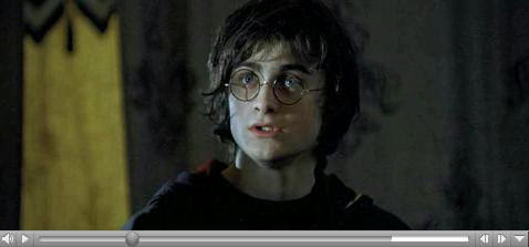 Harry in The Goblet of Fire