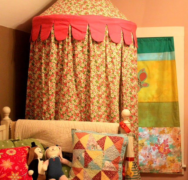 New Curtain -- lots of color!