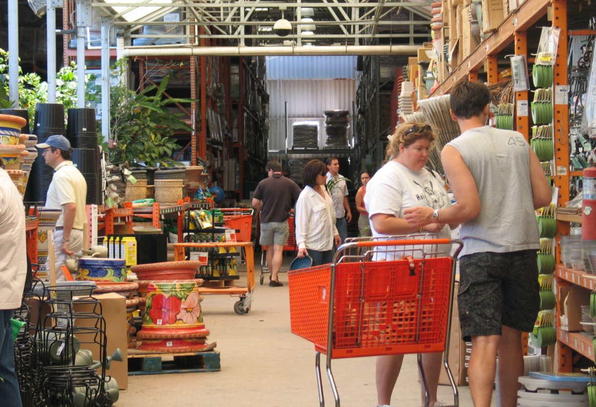 Shopping for gardens