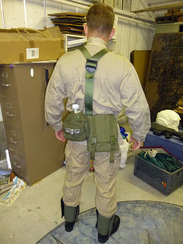 IG Fatigues and Web Gear