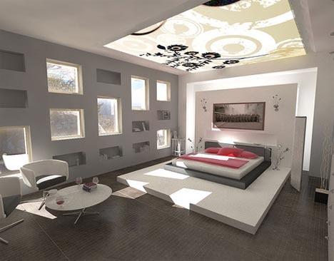 . modern interior design ideas for bedrooms