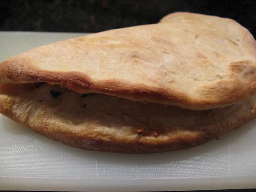 Foldover Garlic Bread