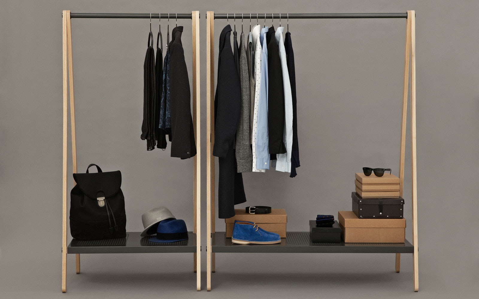 Diy Wooden Clothes Rack Amazing Wood Projects