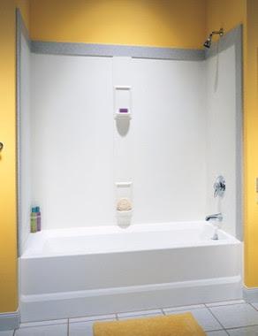 Swanstone SS-60-5 Bathtub 5-Panel Wall Kit - Aggregate ...