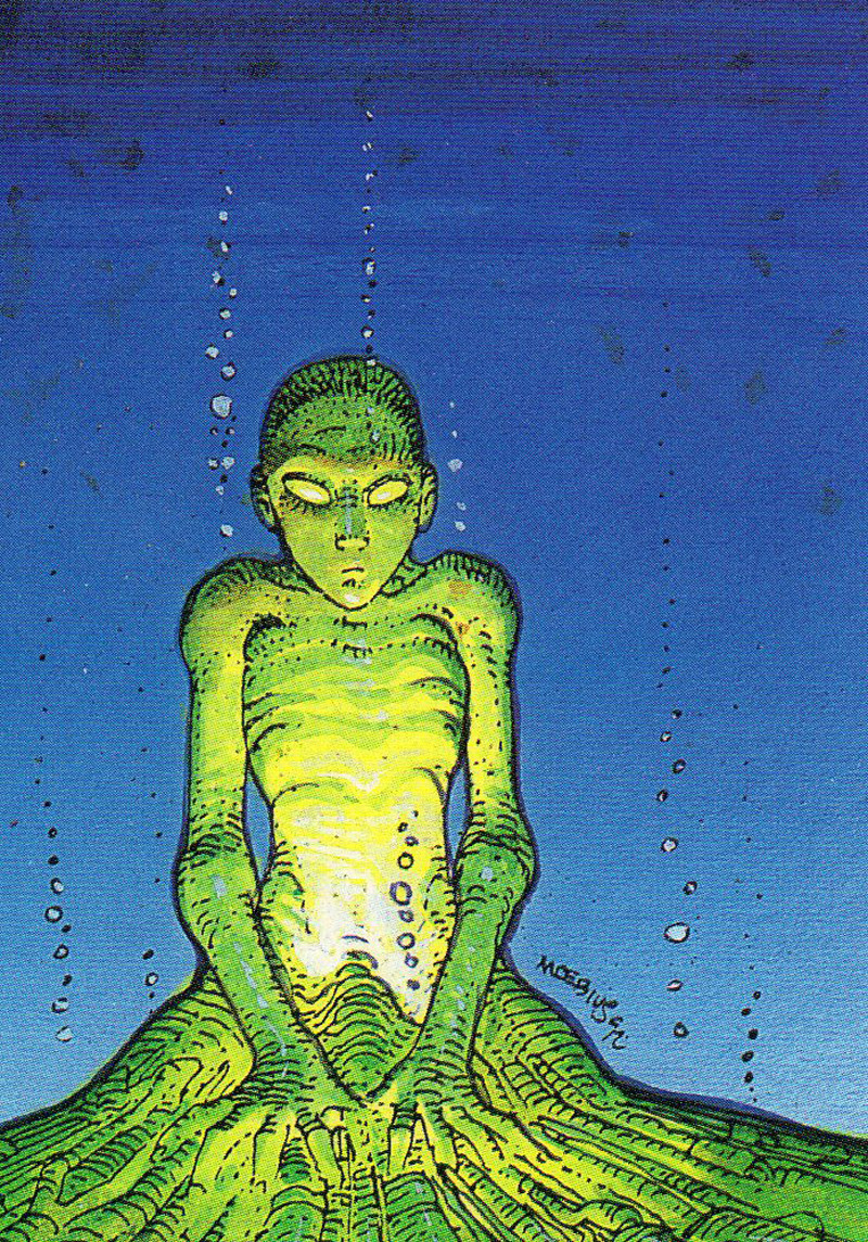 Moebius - Trading Card 42. The paternum