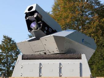 Лазерная пушка Rheinmetall. Фото с сайта rheinmetall-defence.com