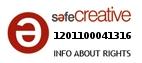 Safe Creative #1201100041316
