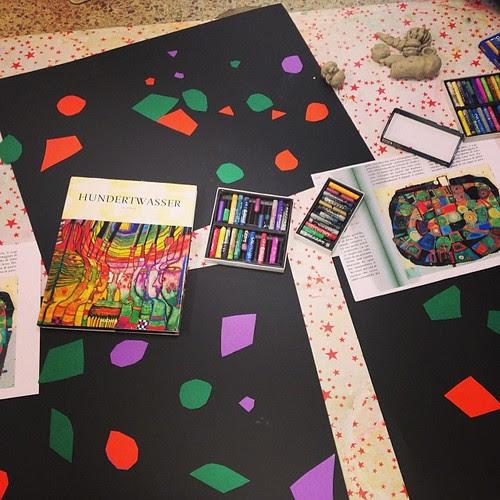 Hundertwasser workshop by la casa a pois