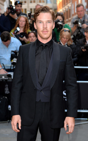 Benedict Cumberbatch attends the GQ Men of the Year awards at The Royal Opera House on September 2, 2014 in London, England.