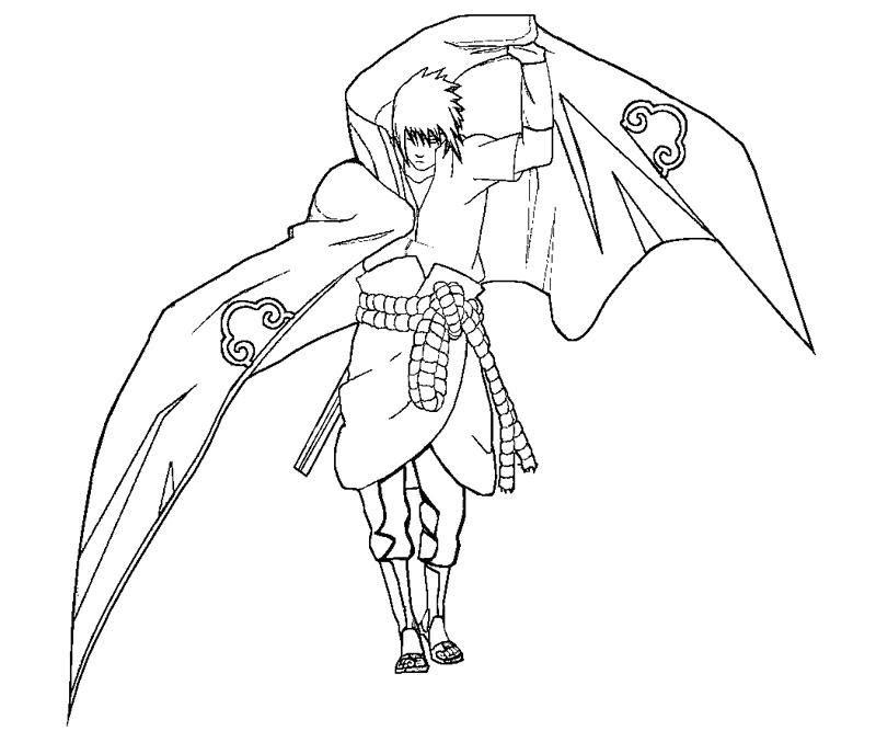 9500 Gambar Hitam Putih Sasuke Terbaru