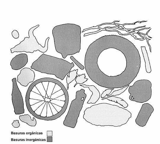 Basura Orgánica Y Basura Inorgánica