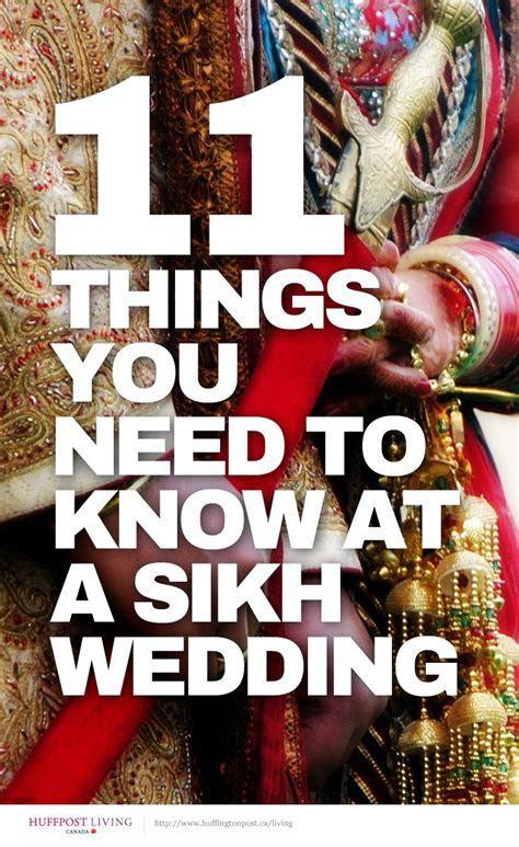 Best 25  Sikh wedding ideas on Pinterest   Punjabi wedding