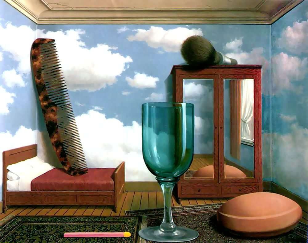 Personal Values, 1952 by Rene Magritte