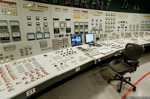 Painel de Controle Nuclear