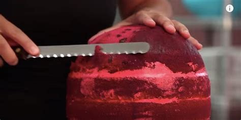 A Delicious Pink Velvet Cake That Looks Just Like A Real