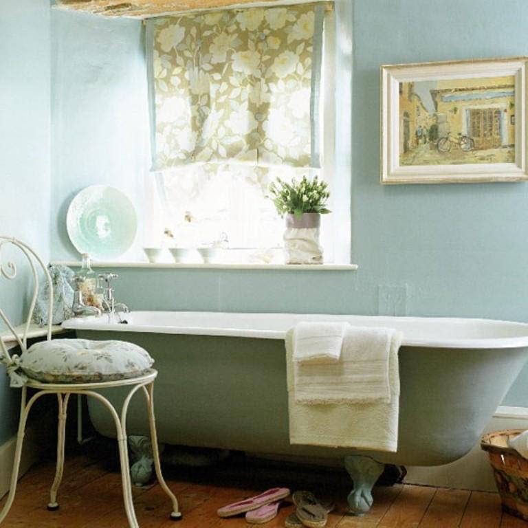French Country Bathroom Decor Ideas - small bathroom design ...