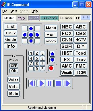 IRC2 Image of Tivo device tab
