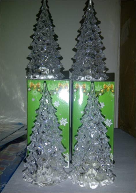 Lampu Pohon Natal Acrylic berubah 7 warna – 156 | Barang