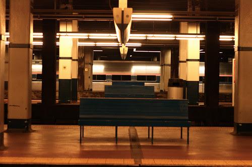 Train in Philadelphia