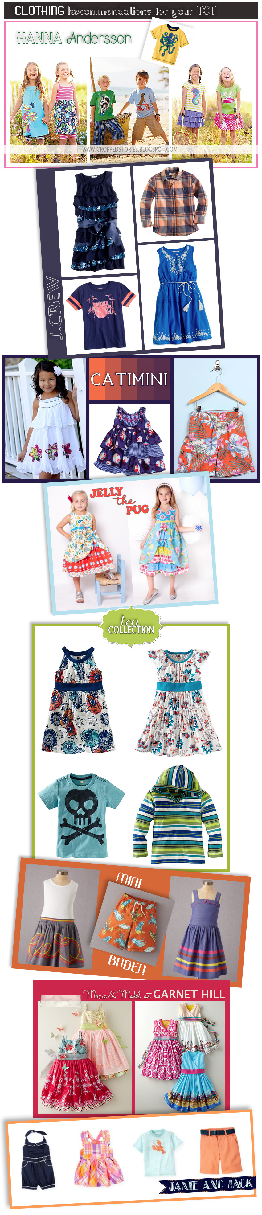TODDLER CLOTHING RECOMMENDATIONS