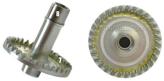 shimano 09 twin power mg drive gear