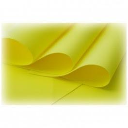Foamiran 005 - żółty