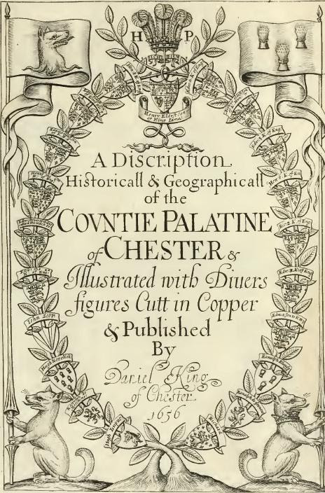 Frontispiece from King's Vale Royal of England